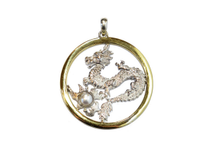 Dragon with Pearl Pendant Female