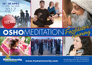 OSHO Meditation Facilitator Training